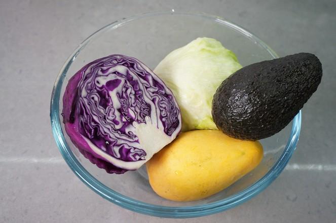 牛油果蔬菜沙拉的做法大全