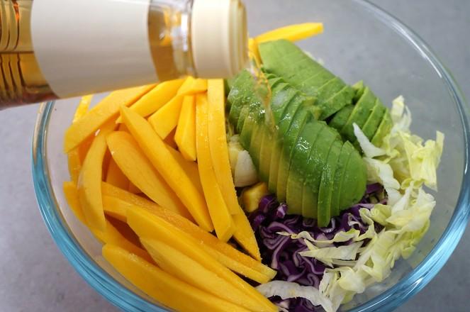 牛油果蔬菜沙拉怎么煮