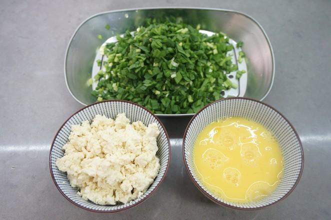 玉米面冰花煎饺的简单做法