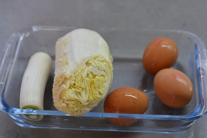 白菜香菇鸡蛋饺的简单做法