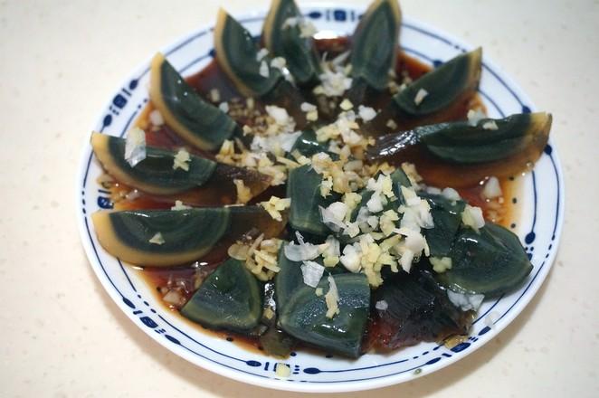 姜醋汁拌松花蛋怎么煮