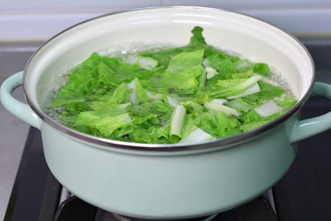 青菜豆腐虾皮汤的简单做法