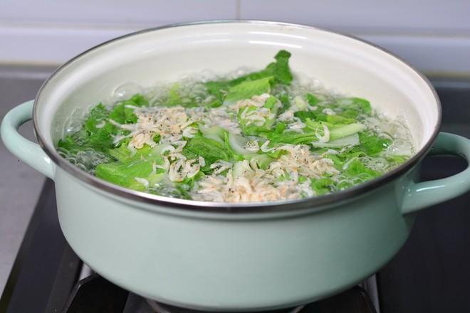 青菜豆腐虾皮汤怎么吃