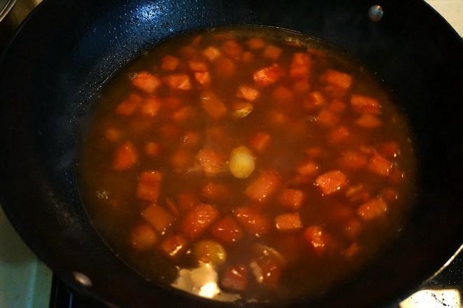 番茄牛腩煲怎么吃
