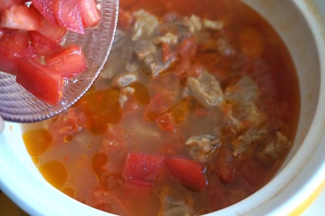 番茄牛腩煲怎么炒