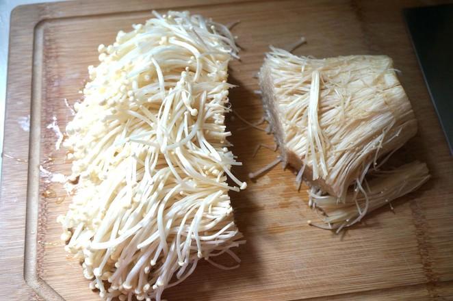 凉拌金针菇的做法大全