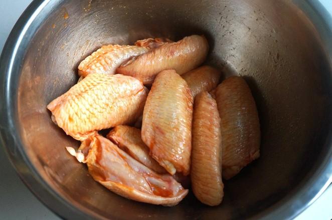 新奥尔良煎鸡翅的家常做法