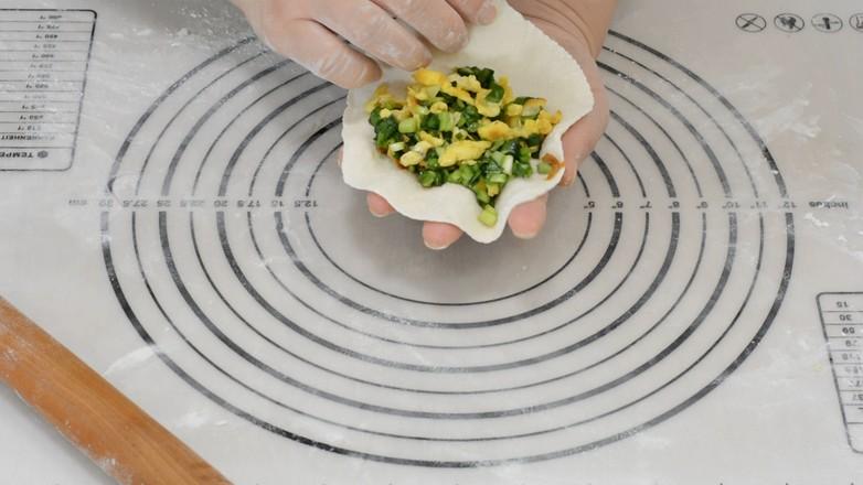 鸡蛋韭菜虾皮盒子怎么煮