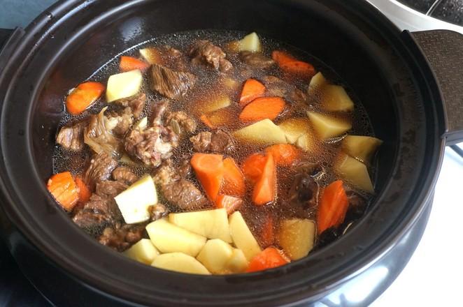 牛肉炖土豆胡萝卜怎么做