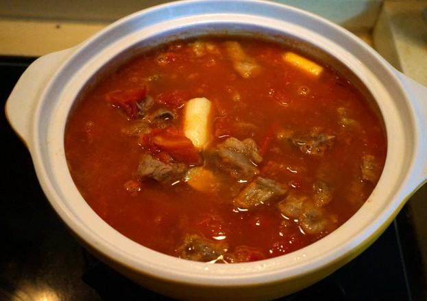 西红柿牛肉粉丝煲怎么煮