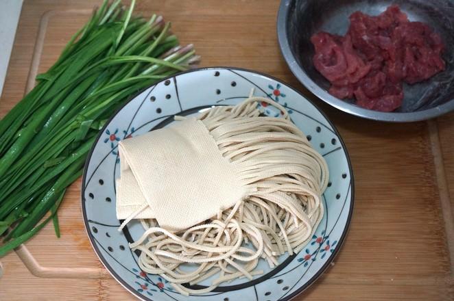 牛肉韭菜豆腐丝的做法大全