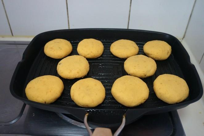 红薯糯米豆沙饼怎样炒
