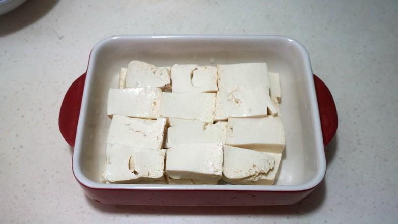 肉末蒸豆腐的家常做法