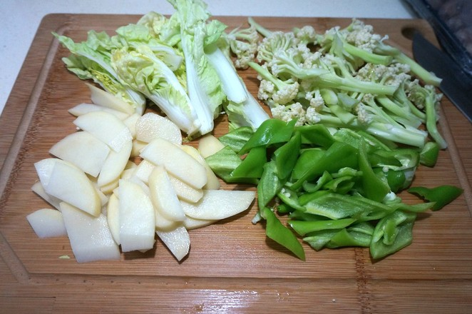 砂锅菜花的做法图解