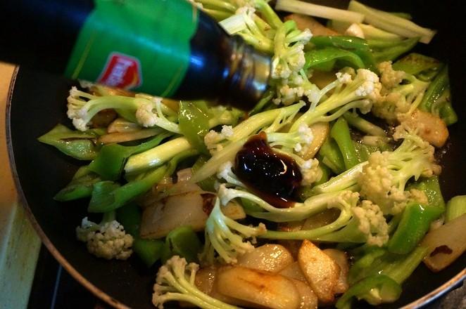 砂锅菜花怎么炒