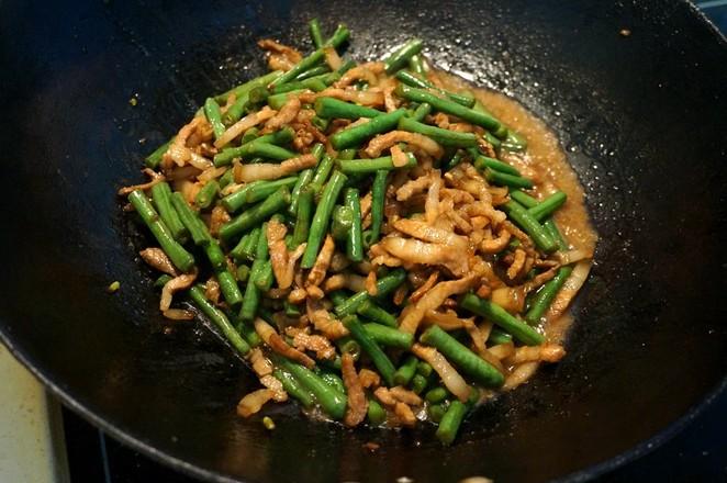 五花肉炒豇豆怎么煮