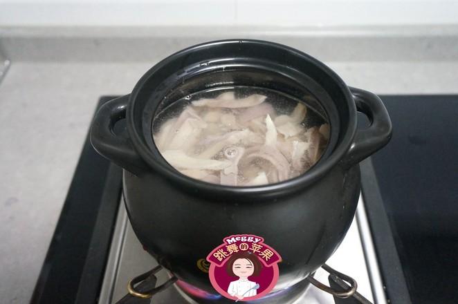 猪肚白果汤怎么做