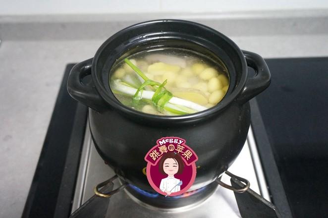 猪肚白果汤怎么炒