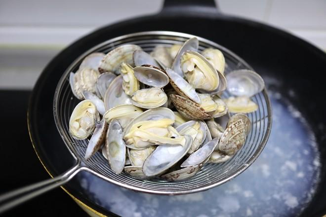 爆炒花蛤怎么吃