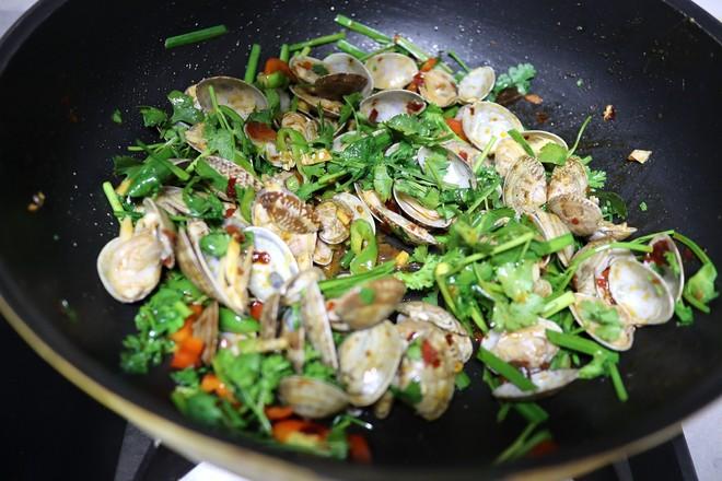 爆炒花蛤怎么煮