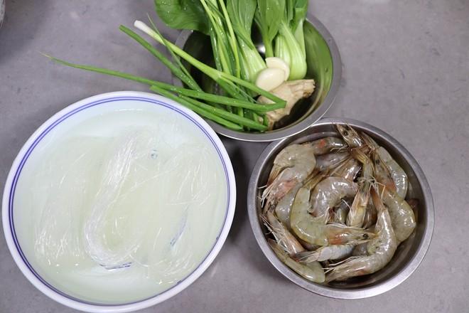 大虾粉丝煲的做法大全