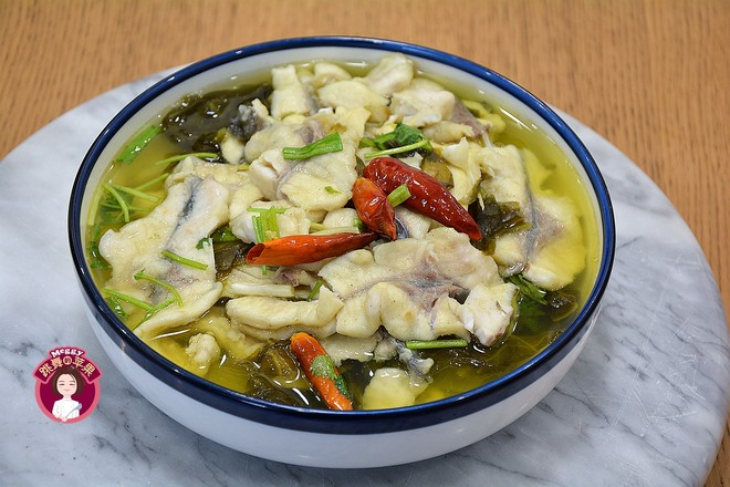 酸菜鱼成品图