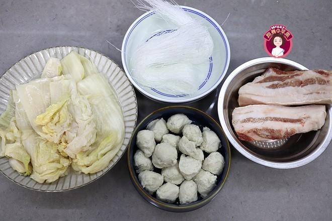 猪肉酸菜粉丝鱼丸的做法大全