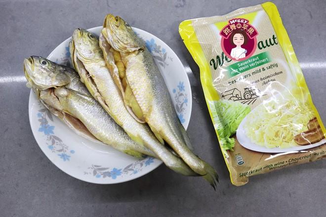 酸菜炖黄鱼的做法大全