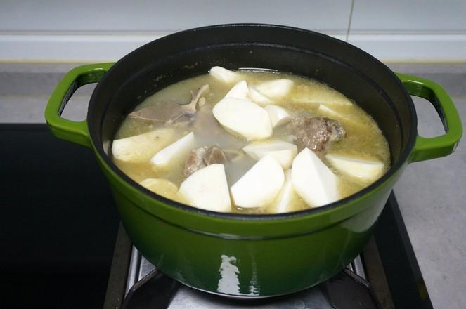 牛脊骨芋头汤怎么炒