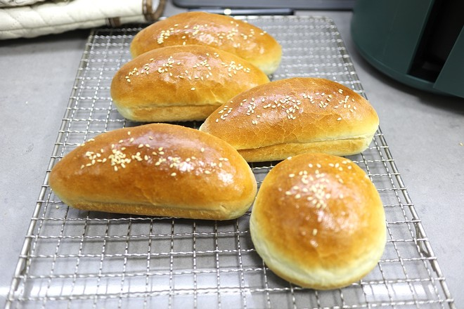 热狗面包怎样煸