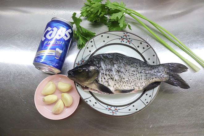 啤酒蒜香鲫鱼的做法大全