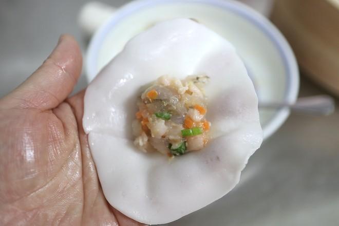 水晶虾饺的制作
