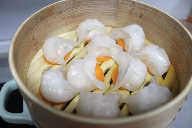 水晶虾饺的做法大全