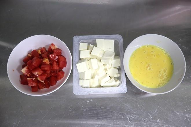 素烧鸡蛋番茄豆腐的做法图解