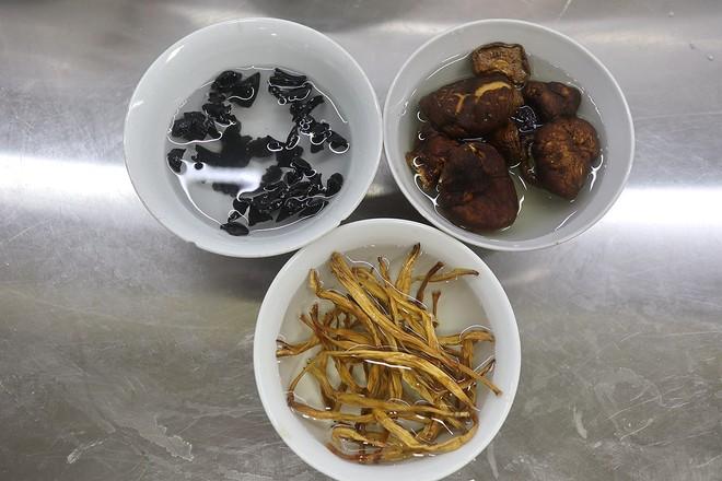 咸卤豆腐脑&黑糖豆浆布丁的做法图解