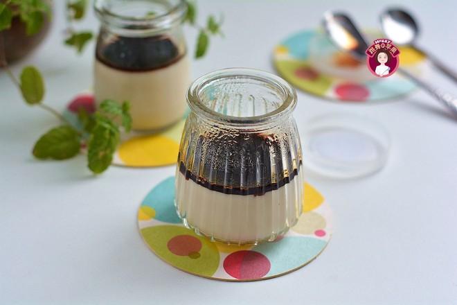 咸卤豆腐脑&黑糖豆浆布丁的做法大全