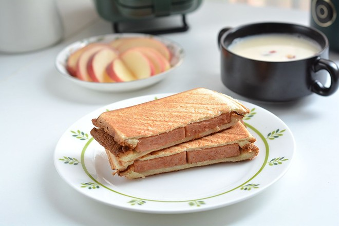 早餐甜咸三明治不重样怎么做