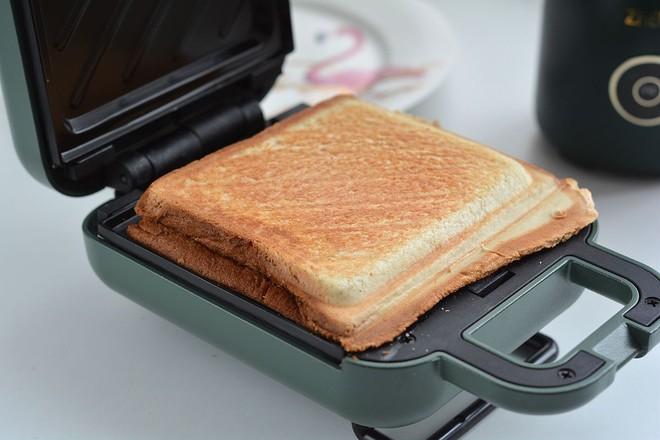 早餐甜咸三明治不重样怎样煸