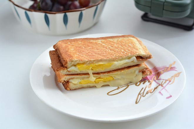 早餐甜咸三明治不重样怎样做
