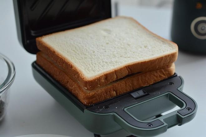 早餐甜咸三明治不重样的制作大全