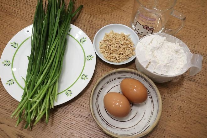 鸡蛋虾皮韭菜合子&肉丸青菜汤早餐的做法大全