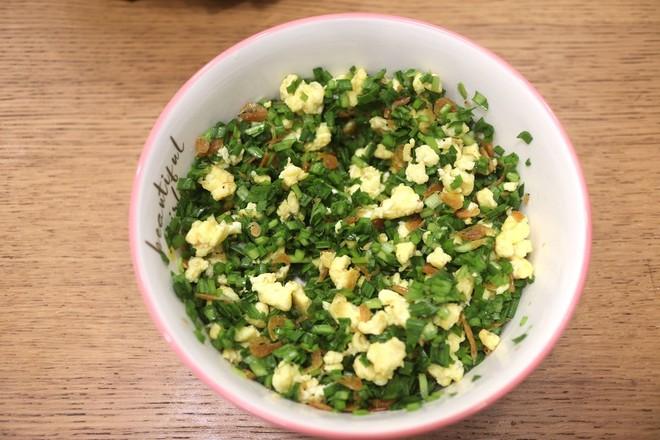 鸡蛋虾皮韭菜合子&肉丸青菜汤早餐怎么炒