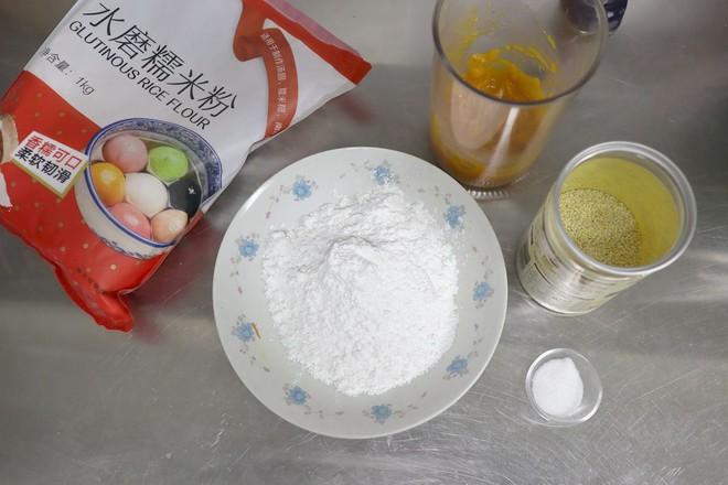 3款南瓜糯米小吃的家常做法