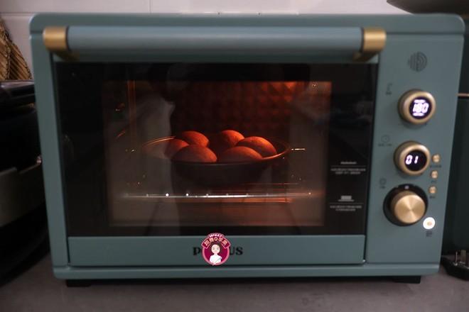 黑米花环奶酪早餐面包怎么炖