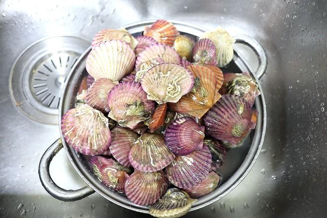 蒸蒜茸粉丝扇贝的做法大全