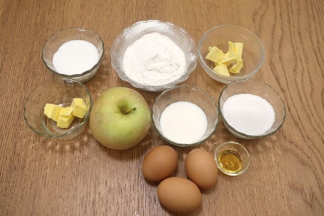 焦糖苹果反转蛋糕的做法大全