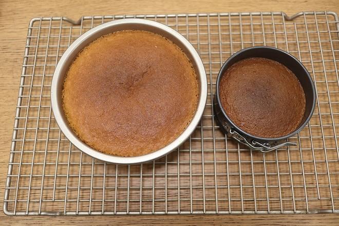 焦糖苹果反转蛋糕的制作方法