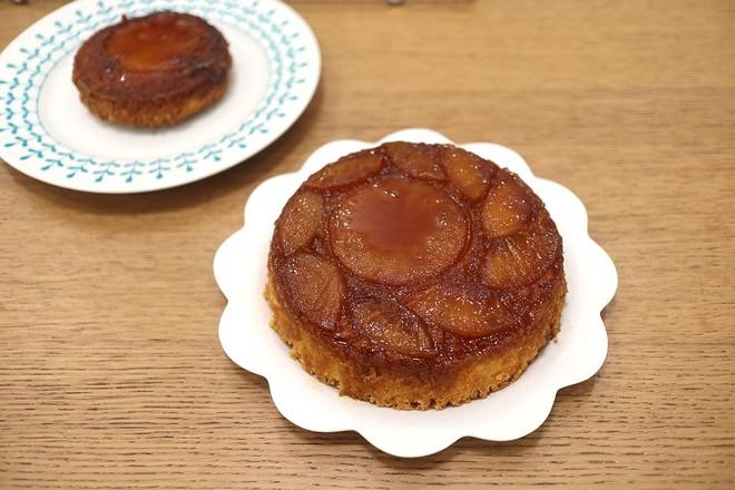 焦糖苹果反转蛋糕的制作大全