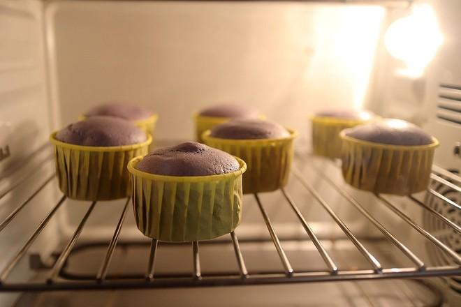 无油紫薯戚风杯子蛋糕怎样煮