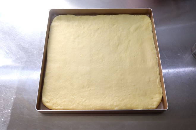 老面肉松面包卷的步骤